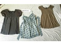 Maternity dresses (or long tops)