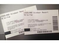 2 Legoland Tickets for Halloween Brick or Treat