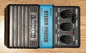 ARION SPH-1 STEREO PHASER vintage pedal, As New