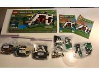 LEGO Minecraft - Waterfall Base!