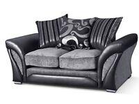 Grey Fabric Sofa 3 plus 2 Farrow