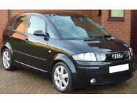 AUDI A2 1.4 TDI SE **ONLY 76,600 MILES** 12 Months Road Tax Only £30 FULL SERVICE HISTORY & LONG MOT