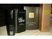 Avon gift bundle. Perfume/makeup. Little Black Dress. Lipstick. Nail polish.