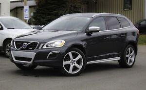 2013 Volvo XC60 T6 R-DESIGN PLATINUM!  LEATHER! SUNROOF! NAV!
