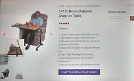 Roma over bed or over chair table: 5710