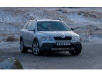 Skoda Octavia 'Scout' 4x4, 1.9 Tdi - 140 hp, - rare and sort-after.