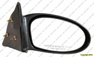 Door Mirror Manual Passenger Side Se Mdl Ptm PONTIAC GRAND AM 2002-2005