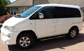 Mitsubishi Delica Space Gear Active Field Edition 2 & 4WD 3.0l V6 Auto 8 Seater People carrier