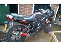 125cc Honda cbr replica