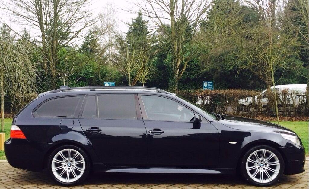 2009 e61 bmw 520d m sport business edition estate auto. Black Bedroom Furniture Sets. Home Design Ideas