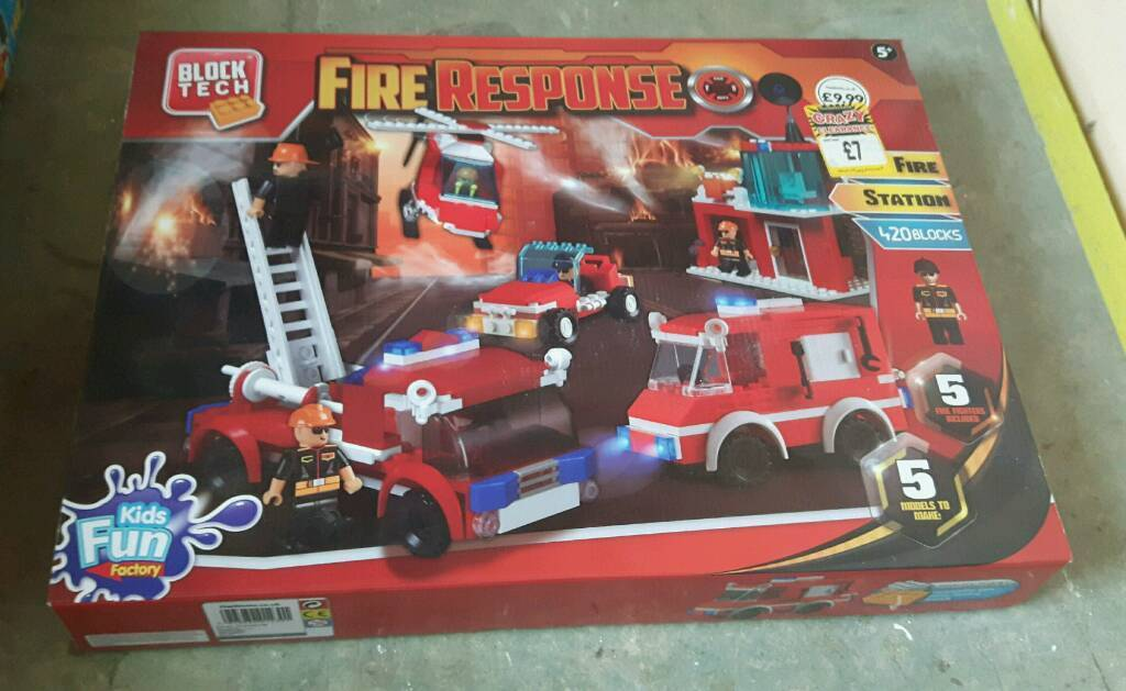 Fire Brigade brick set
