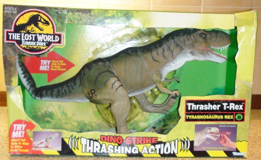 Jurassic Park Toys T Rex : The lost world jurassic park quot thrasher t rex action
