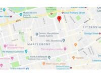 1 Bedroom flat ( 42 sqM ) to rent in Great Portland Street. W1W 5EF ( Central London )