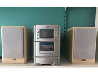 QUICK SALE!!! JVC Stereo System with Tape, CD Player and Radio