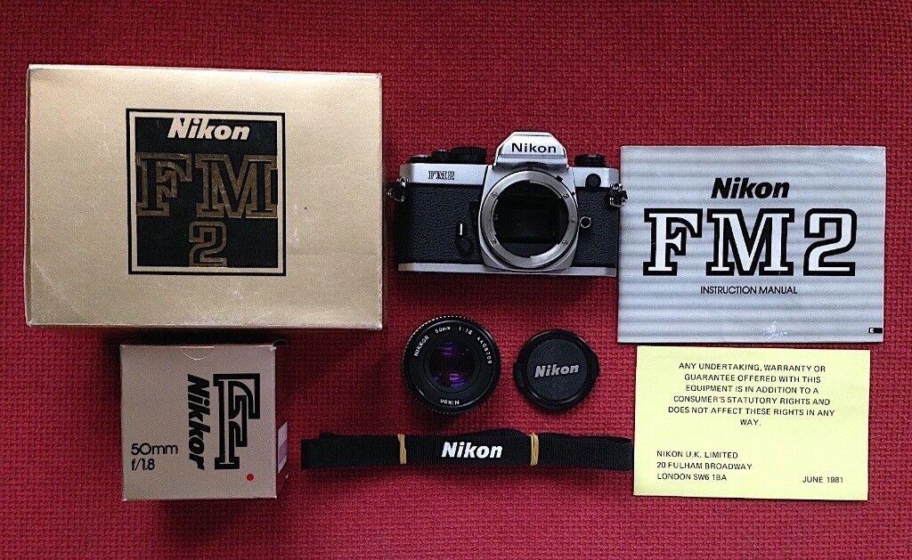 Nikon FM2n 35mm SLR Film Camera