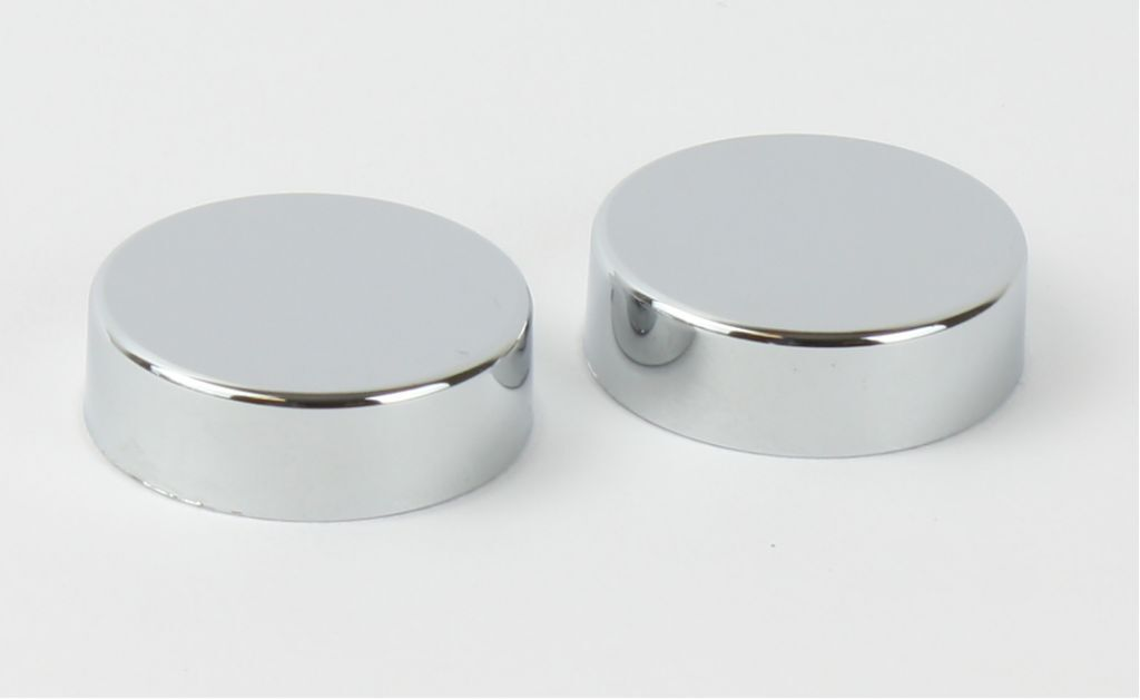 Chrome Cover Cap For Towel Rail Radiator Blanking Plug And