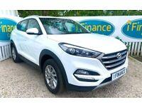 CAN'T GET CREDIT? CALL US! Hyundai Tucson 1.6 GDi Blue Drive SE, 2017 - £200 DEPOSIT, £87 PER WEEK