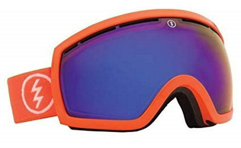 Electric EG2 Snow Goggle, Salmonella, Bronze/Blue Chrome