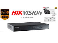 Hikvision CCTV Security Camera System + Installation. Full HD 1080p with Mobile Viewing Setup