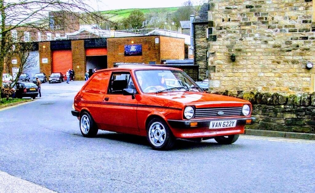 mk1 ford fiesta van very rare in hoyland south yorkshire gumtree. Black Bedroom Furniture Sets. Home Design Ideas