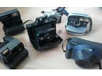 Polaroid cameras and other cameras