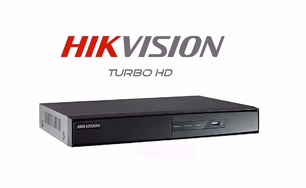 4 Channel Hikvision Turbo HD-TVI Full HD
