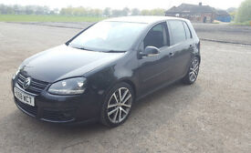 "Volkswagen Golf Sport GT 140bhp Diesel, Leather seats, 18"" Charleston Rims VW Golf MK5 Automatic"