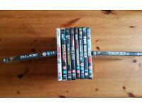 10 DVDs all in very good condition £15