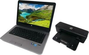 "HP ProBook 640 14"" Laptop i5-4300M / 8GB RAM / 256 GB SSD + FREE Docking Station + 1 Year Warranty + Free Shipping!"