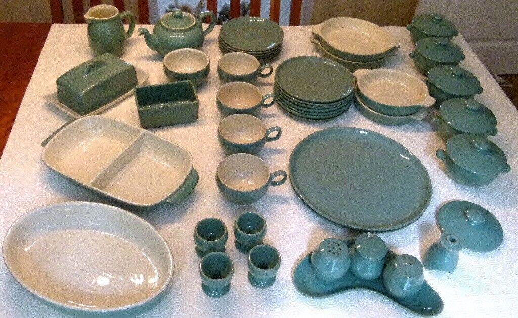 Denby U0027Manor Greenu0027 Dinnerware   Including Dining, Serving U0026 Tea U0026 Coffee  Set