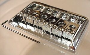 REPLACEMENT-HARDTAIL-ELECTRIC-GUITAR-BRIDGE-CHROME