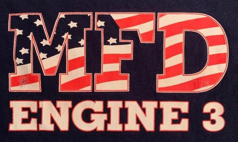 Mineola Fire Department Nassau County Long Island T-Shirt Sz M FDNY