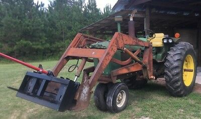 John Deere 3020 Tractor 1968 Front End Loader -ie Gasoline 3010 4020