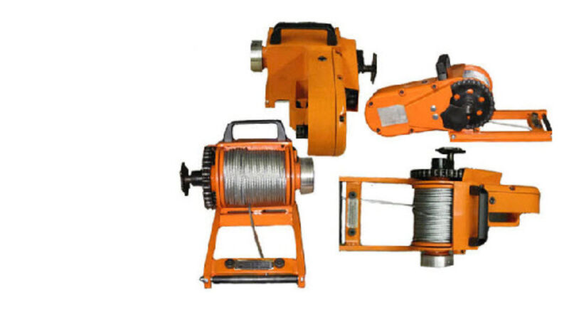 """WINCH - Chainsaw Mounted - 4000 Lb Cap - Includes 150 Ft of 3/16"""" Cable"""