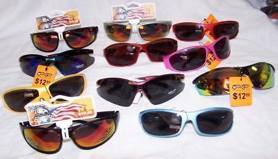 12 WINDY CITY SPORTS BULK LOT SUNGLASSES glasses CHEAP PRICE wholesale #SUN314