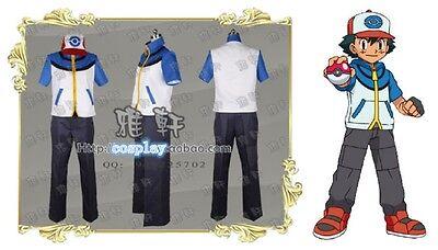 Pikachu Pokemon Ash Ketchum Cosplay Costume ()