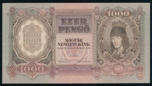 Hungary 1000 PENGO 1943 P116   UNC