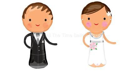 Bride And Groom Balloons (SET of 2 40