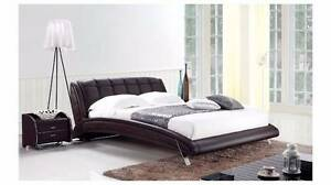 [Brand New]K6662 Real Leather bed available in Queen/King size Nunawading Whitehorse Area Preview