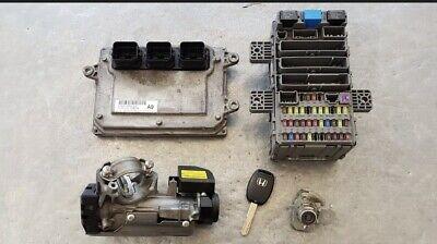 HONDA CIVIC MK8 2006-2011 1.4 PETROL ECU KIT IGNITION BARREL LOCKS 37820-RSH-G31