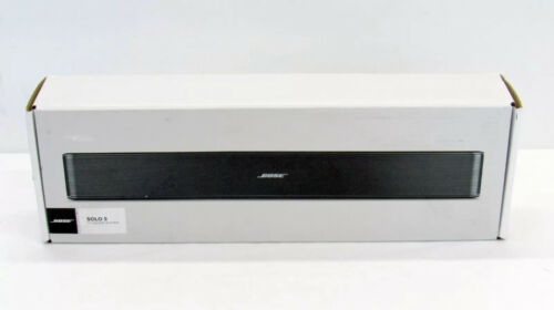BOSE SOLO 5 TV BLUETOOTH SOUNDBAR SPEAKER REMOTE FACTORY RENEWED 1-YEAR WARRANTY