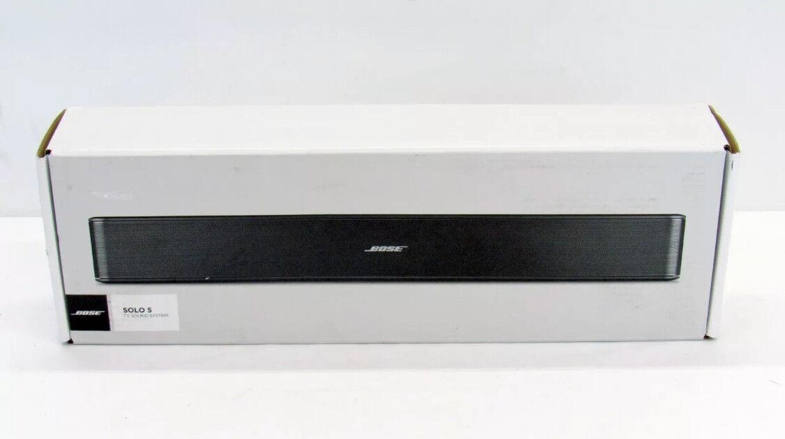 BOSE SOLO 5 TV BLUETOOTH SOUNDBAR 732522-111R FACTORY RENEWED W/ 1-YR WARRANTY