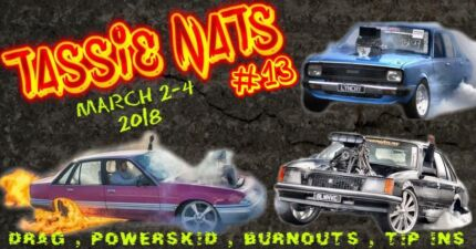 Tassie Nats 2018 Tickets on sale NOW including VIP