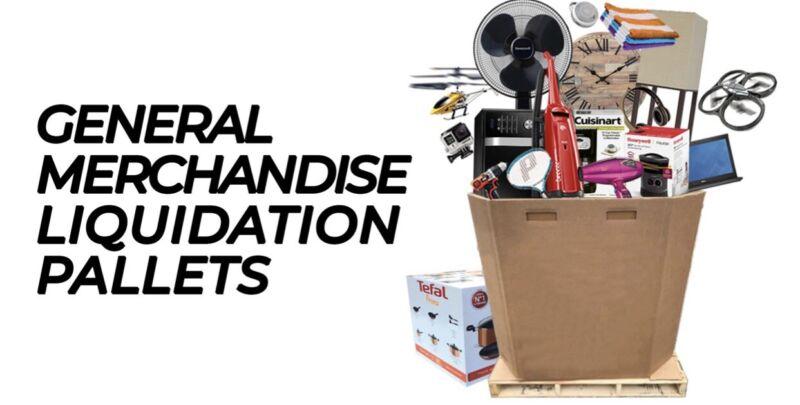 Pallet Liquidation Wholesale Lot (General Merchandise)