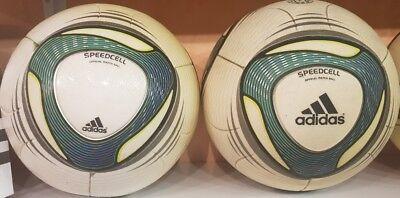 2 adidas Speedcell used balls. Jabulani type balls for sale  Shipping to United States