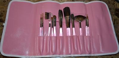 Royal Langnickel Sable Squirrel Makeup Brush Cosmetic Set $99.95 Retail Bag