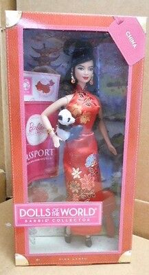 2011 BARBIE..DOLLS OF THE WORLD.... CHINA ...NRFB