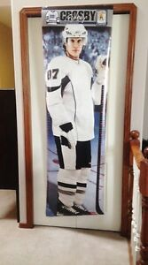 Giant Sidney Crosby Growth Chart Poster