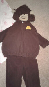 3-6M Halloween Costume- Monkey