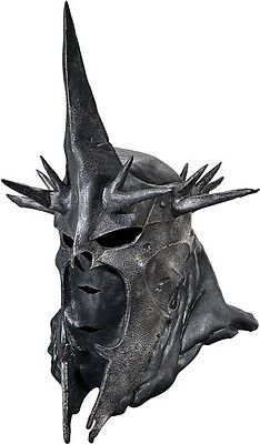 Der Ring Halloween (Herr der Ringe Hexenkönig Maske aus Latex Hexen König von Angmar Halloween )